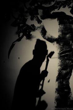 The shadow by Enrico Morani