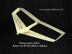Papierflieger-Sunny-Belgien