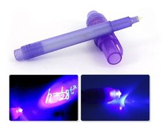 2 in 1 onzichtbare inkt pen en UV Black Light