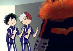 Just random shit of tododeku and katsudeku. Including: Memes Fanarts Smut fanarts I don't know what else to add, it's just random.so enjoy~ Aug 2017 - Dec 2017 Boku No Hero Academia, My Hero Academia Memes, Hero Academia Characters, My Hero Academia Manga, Anime Guys, Manga Anime, New Memes, Animes Wallpapers, Nerd