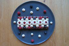 Pinky Cake, Cake chocolat, thé vert et fruits rouges