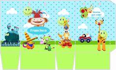 Tarjetas De Cumpleaños Baby Tv Para Imprimir En Hd 14  en HD Gratis Baby Tv Cumpleaños, Baby Birthday Themes, Tv Themes, Baby Cartoon, Party Printables, Little Babies, Rainbow Colors, Diy And Crafts, 1