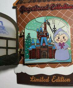 Disney Trading Pins, Disney Pins, Disney Contemporary Resort, Disneyland Hotel, Fairy Godmother, 10 Anniversary, Ebay Ads, Gingerbread, Link