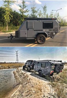 16 Ideas Off Road Campers Trailer Camping Trailer Off Road, Camper Trailer For Sale, Trailers For Sale, Camper Trailers, Trailer Tent, Trailer Build, Travel Trailers, Expedition Trailer, Caravan