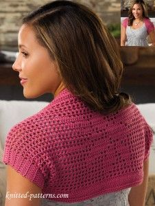 Little shrug crochet pattern free