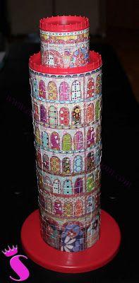 Showroom by Creative-Pink: Der schiefe Turm von Pisa als Dekoobjekt - Ravensburger macht es möglich