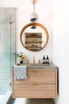 Bathroom Design Inspiration, Bathroom Interior Design, Home Interior, Interior And Exterior, Bohemian Decoration, Home Decoration, Living Room Remodel, Minimalist Decor, Home Decor