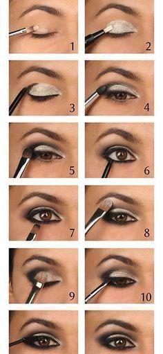 Easy smokey eye tips even for beginners! #smokeywingedliner #wingedlinereasy