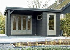 Prima Linda Flat Roof Log Cabins