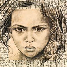 Stéphanie Ledoux - Fillette Borana 1 (Kenya)