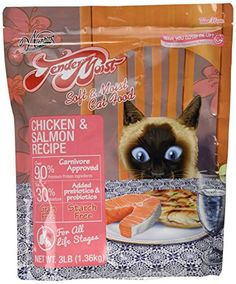 Waggers Tendermoist ChickenSalmon Cat Treat 3 lb >>> Want additional info? Click on the image.