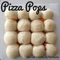Recipe Pizza Pops by theroadtolovingmythermomix - Recipe of category Breads & rolls