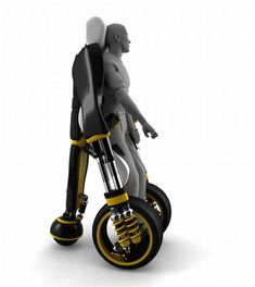 Elevating wheelchair - a revolutionary new aid for the disabled