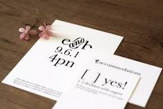 wedding invitation kit - Google Search