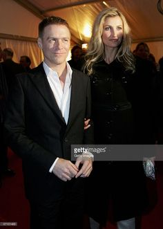 Singer Bryan Adams (L) and model Tereza Maxova arrive at the LEAD Awards 2006 at the Deichtorhallen on March 15, 2006 in Hamburg, Germany. Adams, who takes a photo story of Mickey Rourke will receive the award for best portraiture.