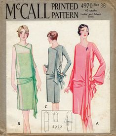 1920s style dress sewing patterns