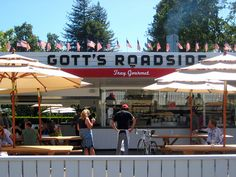Gott's Roadside, hands down best place to eat in Napa Valley!