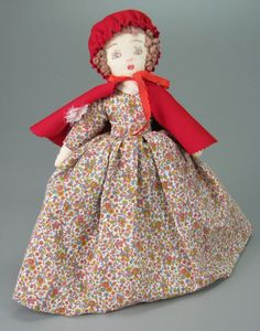 109.16489: Little Red Riding Hood Topsy Turvy Doll | doll