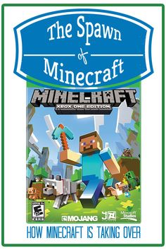 Do your kids love Minecraft? My kids do. How Minecraft is taking over our house and the one embarrassing thing I did yesterday.