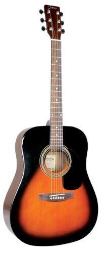 Johnson JG-620-S 620 Player Series Acoustic Guitar, Sunburst - Digital Guitarist