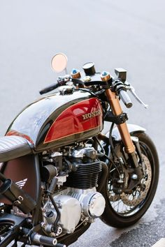 HONDA Cafe Racer #motorcycles #caferacer #motos | caferacerpasion.com