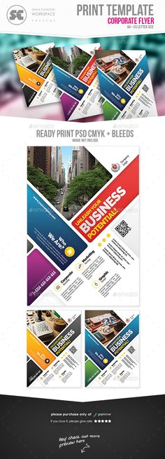 Modern Business Flyer Template PSD. Download here: https://graphicriver.net/item/modern-business-flyer/19002195?ref=ksioks