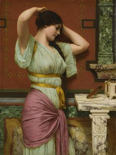 Godward, John William, R.B.A., Julia, dated 1914, Sotheby's New York, 27 May 2017