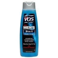 Alberto VO5 Mens 3-IN-1 Shampoo, Conditioner and Body Wash, Ocean Surge12.5 fl oz (Pack of 3) >>> Find out more about the great product at the image link.
