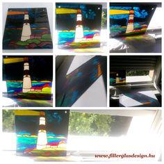 Kézzel festett üvegkép Magic, Glass, Drinkware, Corning Glass, Yuri, Tumbler, Mirrors