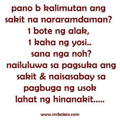 """Tagalog Sad Love Quotes""