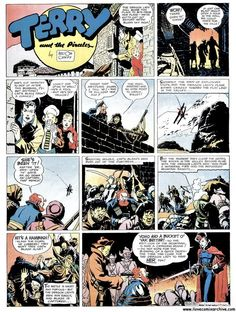 Terry and the Pirates - Milton Caniff
