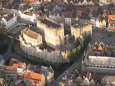 Gravensteen Ghent #visitgent gent belgim europe castle of the counts must visit travel citytrip