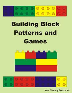 Summary: Get over 40 pages of building block pattern cards and games. Product Details: E-book – 47 pages Language: English LIST PRICE: $5.99 Shipping: FREE – once payment is made you will receive an email with alink to download the book. You will need Adobe Reader to open the book. Summary: Building Block Patterns and …