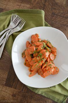 Tarragon Glazed Carrots via ateaspoonofhappiness.com