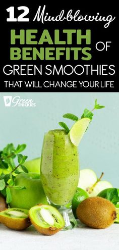 These health benefits of green smoothies will blow you away. Adding one green smoothie to your diet can totally transform your health, especially when…