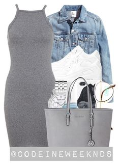 """10/24/15"" by codeineweeknds ❤ liked on Polyvore featuring H&M, NIKE, Miss Selfridge, Michael Kors, Essie and Benetton"