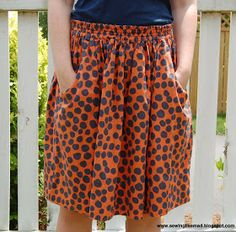 Sewing Like Mad: Cotton summer skirts. #tutorial