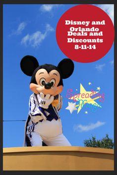 Disney & Orlando Deals and Discounts – Week of August 11, 2014 #travel #traveldeals #DisneyWorld #disney #Disneyland #UniversalOrlando #Disneyparks #DCL