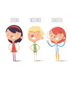 Character design, character design inspiration и character flat design. Character Flat Design, Kid Character, Character Design Inspiration, Character Concept, Flat Design Illustration, People Illustration, Children's Book Illustration, Character Illustration, Cartoon Sketches