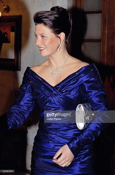 Princess Martha Louise Of Norway Attends A Performance At The Stockholm Opera House During The Celebrations For King Carl Gustav Of Sweden'S 50Th Birthday.