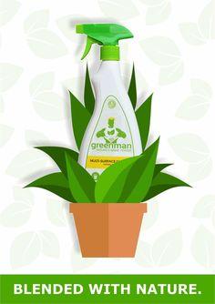Greenman so natural, nature absorbs it! #GreenmanInternational #EcoWarrior #EcoFriendly www.greenmaninternational.com