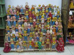 wacky indian dolls