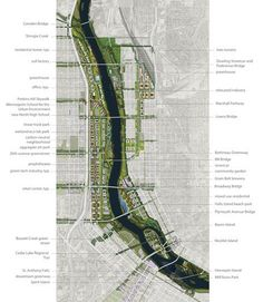 Minneapolis Riverfront Design Competition-Turenscape