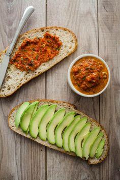 Naturally Ella | Harissa and Avocado Grilled Cheese Sandwich