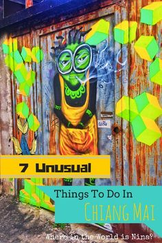 There's plenty to do in Chiang Mai, Thailand, but here are some activities and sites that I doubt you've thought of! Check out some of the weird and unusual things Chiang Mai offers.