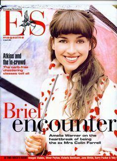 Amelia Warner in ES Magazine Pictorial April 2004