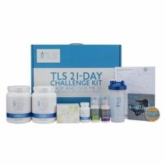 TLS® 21-Day Challenge Kit from Market America - These days, weight loss is depicted as a battle with complex programs, extr