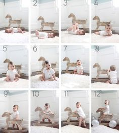Milestone baby chart photo by Natalie Ann Photography | 100 Layer Cakelet
