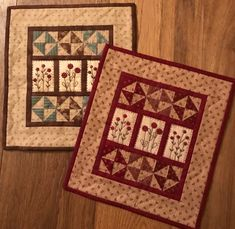 Red Button Quilt Company is a home based quilting pattern and kit business by Emily Hardwig, based in Bemidji, Minnesota. Hanging Quilts, Quilted Wall Hangings, Small Quilt Projects, Quilting Projects, Quilting Ideas, Small Quilts, Mini Quilts, Patch Quilt, Quilt Blocks