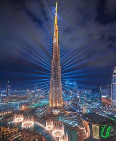 Dubai The city of lights. - Dubai The city of lights. Dubai Buildings, Amazing Buildings, Skyscrapers, City Photography, Landscape Photography, Hongkong, City Wallpaper, Luxury Wallpaper, Visit Dubai